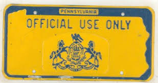 Pa Vanity Plates License Plates For Sale