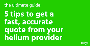latex quote in box tips to get a fast accurate quote from your helium provider