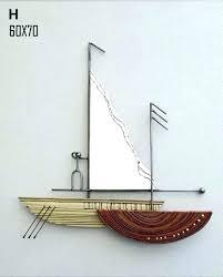 wooden sailboat wall decor marvellous sailboat wall decor large