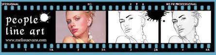 tutorial cara vector photoshop turn photos of people into line art photoshop tutorial melissa evans