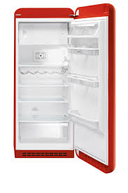 smeg fab28rra1 256lt retro 50 u0027s style fridge freezer with