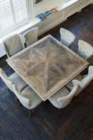 Square Dining Room Table by Best 25 Square Kitchen Tables Ideas Only On Pinterest Small