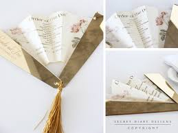 fan shaped wedding programs wedding invitations wedding stationery south africa secret