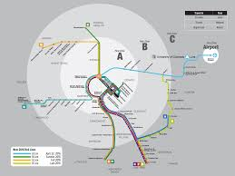 Map Of Denver Colorado by Updated Official Map Denver Rtd Rail Services Transit Maps