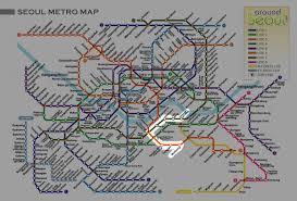 Seoul Subway Map by Seoul Subway Tuxedokatpro