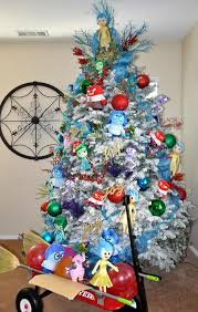 themed christmas trees inside out disney themed christmas tree pretty my party