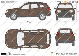 renault dacia 2015 the blueprints com vector drawing dacia duster