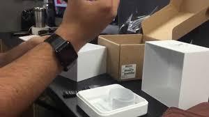 black stainless steel link bracelet images Space black apple watch unboxing stainless steel jpg