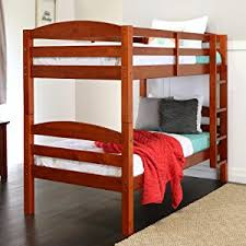 Bunk Bed Wooden We Furniture Solid Wood Bunk Bed White Kitchen