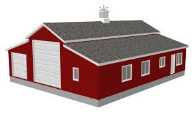 Barn Style Home Plans 100 Garage With Living Quarters House Plan Pole Barn With