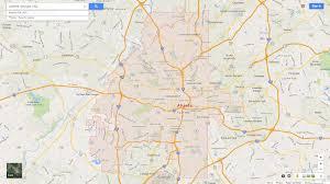 Map Of Atlanta Ga Area by Atlanta Georgia Map