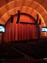Radio City Music Hall Floor Plan by Radio City Music Hall Section 1st Mezzanine 7