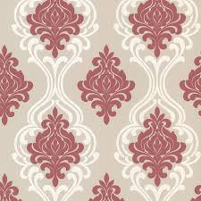 Wallpaper For Home by Decorline Indiana Damask Wallpaper Walmart Com