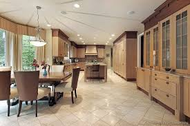 Light Oak Kitchen Cabinets Pictures Of Kitchens Traditional Light Wood Kitchen Cabinets