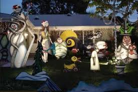 homey ideas nightmare before outdoor decorations