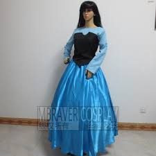 Ariel Mermaid Halloween Costume Adults Costume Nurse Picture Detailed Picture