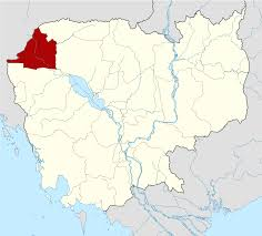 Map Of Cambodia Banteay Meanchey Province Wikipedia