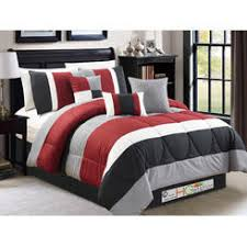 Red And Grey Comforter Coral Bedding Sets On Bed Sets For Trend Black And Red Bedding