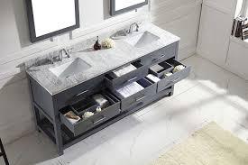 virtu md 2272 wmsq gr caroline estate double bathroom vanity