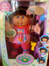 baby doll hair extensions sign of the times cabbage patch kids now hair extensions