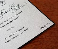 black tie wedding invitations mention your black tie dress code somewhere within your wedding