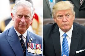 Queen Elizabeth Donald Trump Donald Trump And Prince Charles Views On Climate Changes