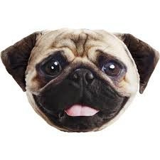 amazon com pet faces pug pillow pet supplies