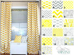 Yellow Patterned Curtains Yellow And Grey Curtains Yellow Patterned Curtains The Best Yellow