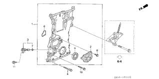 2005 honda accord timing belt or chain 04 w timing chain cover leak