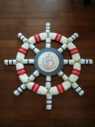 Diaper Centerpiece For Baby Shower by 11 Creative Ideas For Diaper Cakes Ship Wheel Diapers And