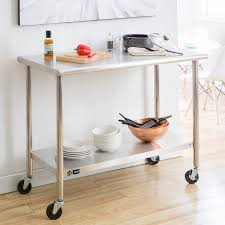 kitchen island work table decorating kitchen with movable island steel kitchen island work