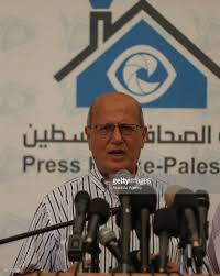 siege conference jamal al khudari press conference in gaza pictures getty images