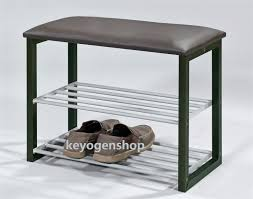 Shoerack Bench 2 Layer Metal Steel Shoe Rack Stoo End 11 18 2017 11 15 Pm