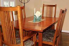Mission Dining Room Chairs by Arts And Crafts Mission Style Dining Sets Ebay