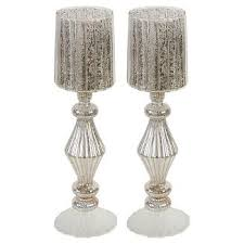 Candle Pedestals Tall Silver Candle Holders Target