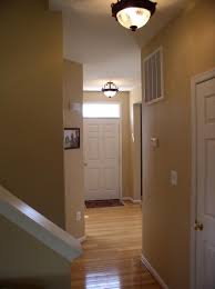 Beautiful Laminate Flooring Interior Trendy Ceiling Lights Design With Warm Brown Hallway