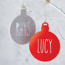 Goddaughter Christmas Ornaments Personalised Name Laser Cut Christmas Tree Bauble Laser Cut