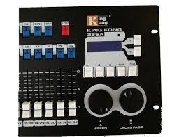 dmx light board controller dmx512 king kong 256 channel dmx light controller lighting board