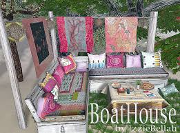 Shabby Chic Patio Furniture by June 2012 Boathousebyizziebellah