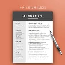 80 off resume template instant download von theresumemaker