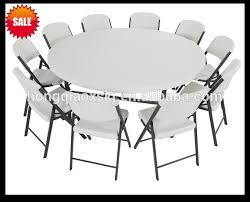 round plastic folding tables 71inch plastic folding round table cing garden dining folding