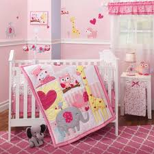 nursery beddings baby elephant crib bedding sets together