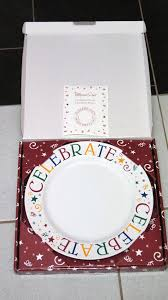 celebrate plate pampered chef celebrate plate in box never used home decor for