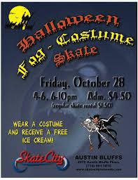 halloween fog costume skate