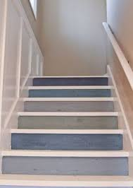 beautiful u0026 soothing gray and blue risers pale gray treads in a