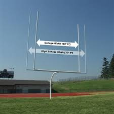 Backyard Football Goal Post Aae Football Goal Posts Semi Permanent Portable Offset U0026 Hinged