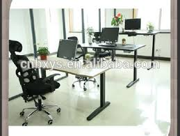 Electric Adjustable Desk by Sit Stand Office Desk Electric Height Adjustable Desk Smart