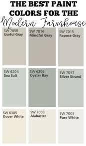 paint colors featured on hgtv show u201cfixer upper u201d favorite paint