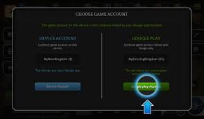 android account recovery of the realm
