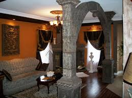 venetian home decor venetian plaster decor stone arches with integrated lighting
